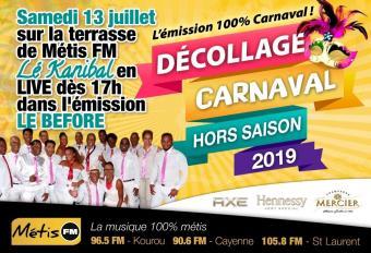 DÉCOLLAGE CARNAVAL HORS SAISON 2019