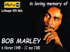 EN MEMOIRE DE BOB MARLEY