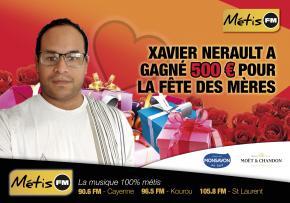 XAVIER NERAULT GAGNANT DE LA FÊTE DES MÈRES